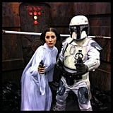 Princess Leia and Mandalorian From Star Wars