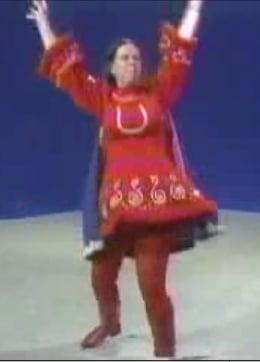 Suzanne Muldowney Performs Her Underdog Interpretive Dance on Checkerboard Kids