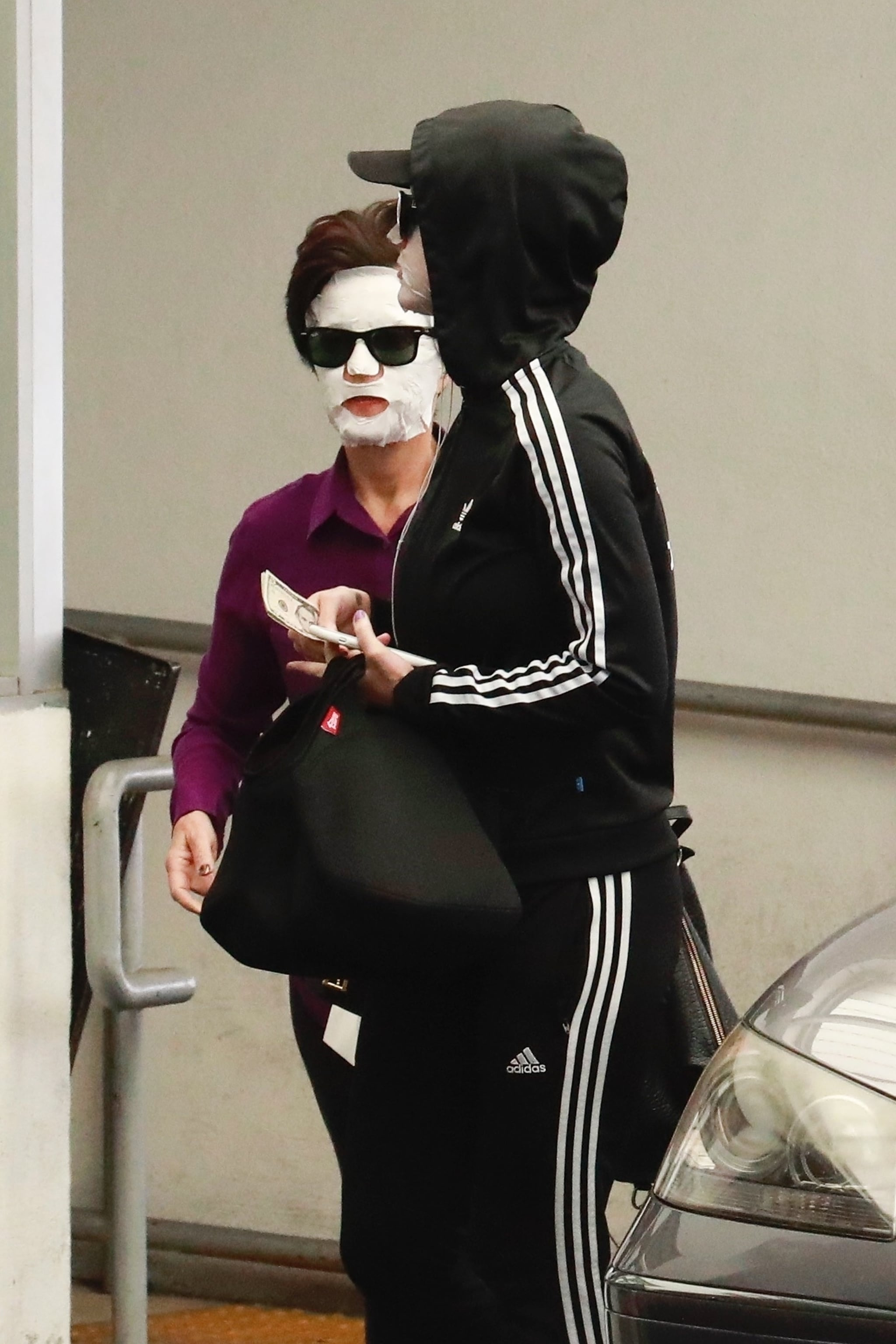 Beverly Hills, CA  - *EXCLUSIVE*  - Katy Perry and her mom, Mary,  are spotted leaving a dermatology clinic in Beverly Hills the day after Mother's Day. The mother and daughter appeared to enjoy a post Mother's Day facial treatment that they wore out of the centre and topped it off with sunglasses. Katy and Mary even kept the masks on in the car as they drove off. The valet managed to keep a straight face as he pulled up with their car but let's hope she didn't get pulled over!Pictured: Katy Perry, Mary PerryBACKGRID USA 15 MAY 2018 USA: +1 310 798 9111 / usasales@backgrid.comUK: +44 208 344 2007 / uksales@backgrid.com*UK Clients - Pictures Containing ChildrenPlease Pixelate Face Prior To Publication*