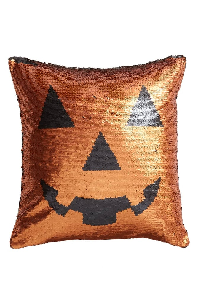 levtex pumpkin sequin accent pillow