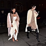 She Contrasted Kendall, Who Dressed More Appropriately For the Weather