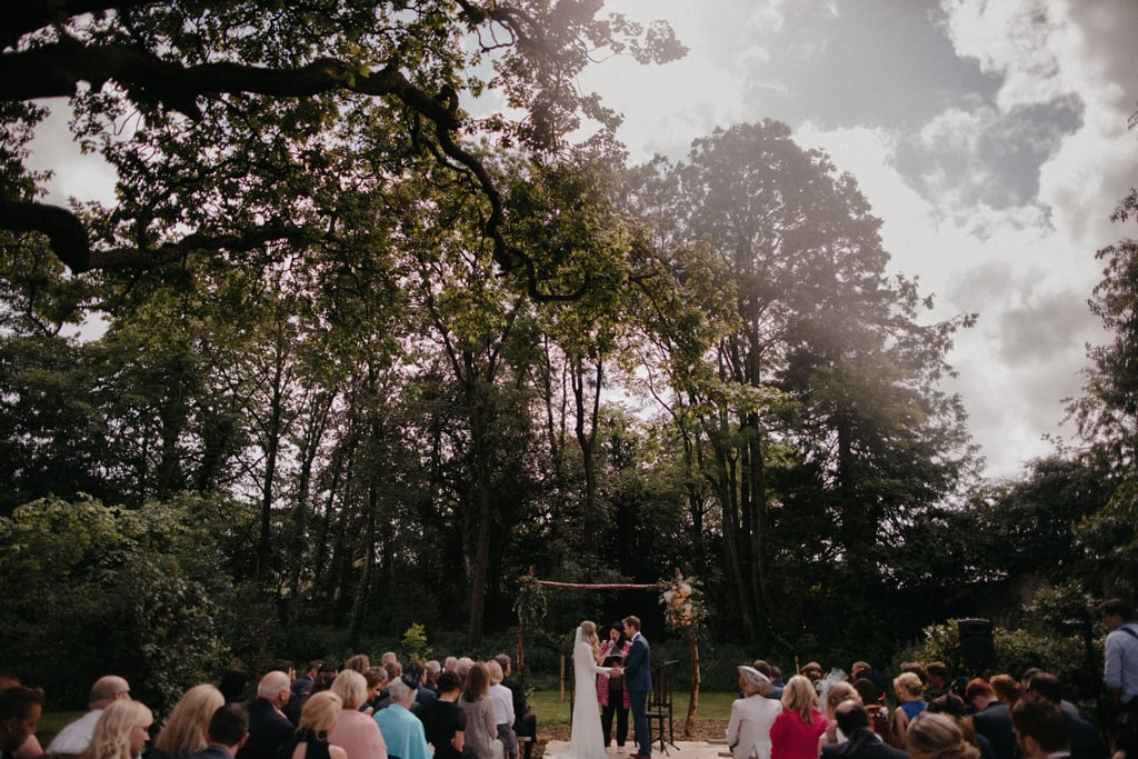 The Ceremony Took Place in a Forest