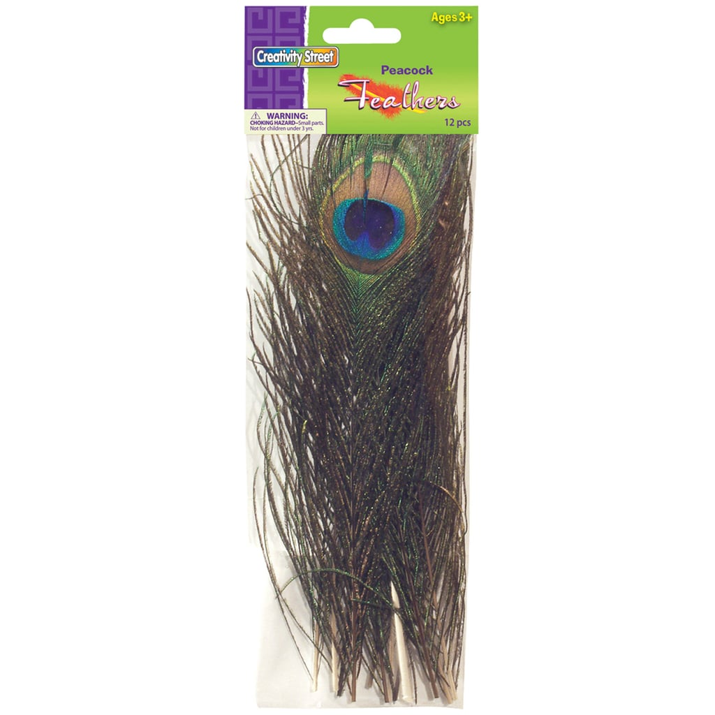 Dixon Peacock Feathers, 12/Pack