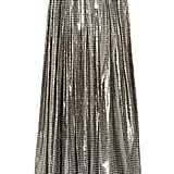 Erring on the extravagant side, this silk lamé maxi is shimmery metallic perfection — with a price tag to match. Lanvin Printed Silk-Blend Lamé Maxi Skirt ($4,900)