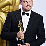 Leonardo DiCaprio and His Oscar