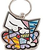 Romero Britto Britto Cat Keychain ($15)
