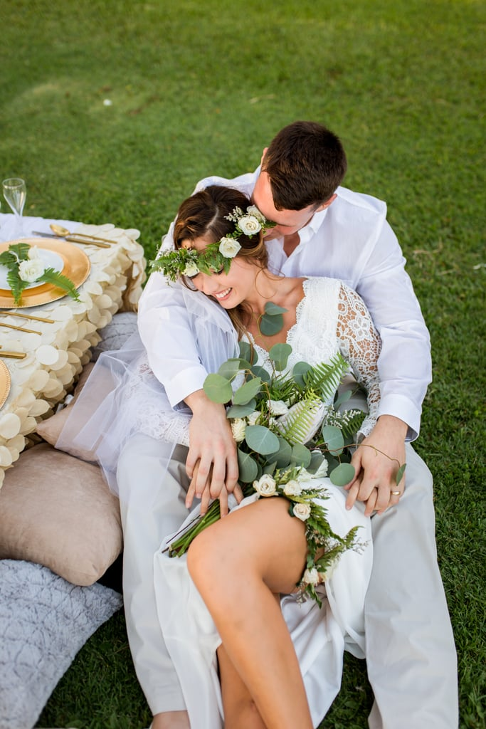 See the boho Hawaiian wedding here!