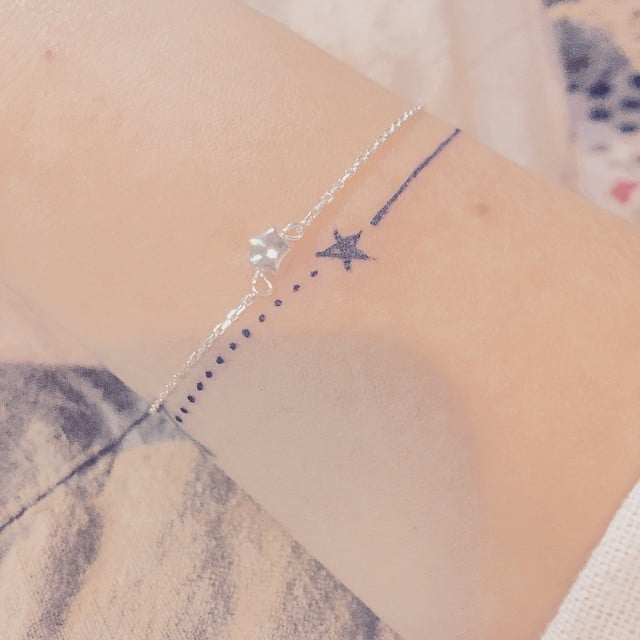 Bracelet Tattoo Ideas Popsugar Beauty