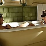 Charlize Theron was in a tub with Stuart Townsend in 2004's Head in the Clouds.