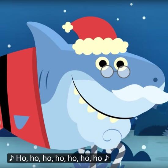 Baby Shark Christmas Song Called Santa Shark