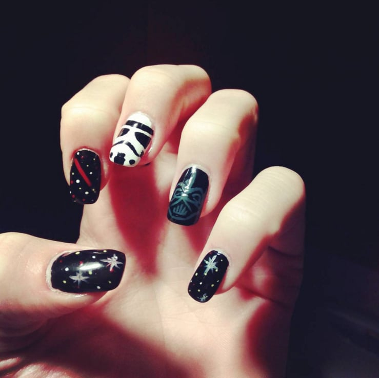 Star Wars Nail Art Popsugar Beauty Middle East Photo 19