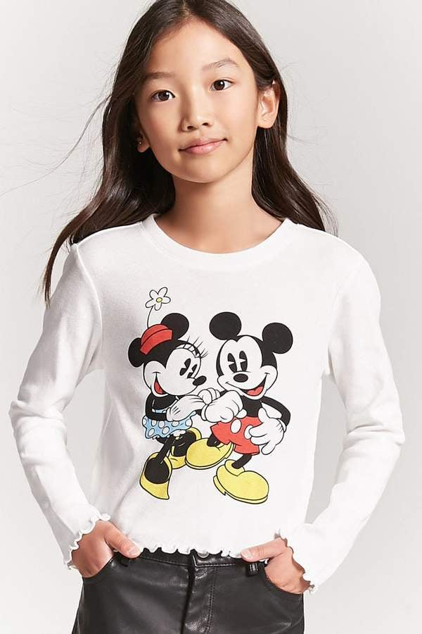dbd56a48de8 Forever 21 Minnie   Mickey Mouse Top