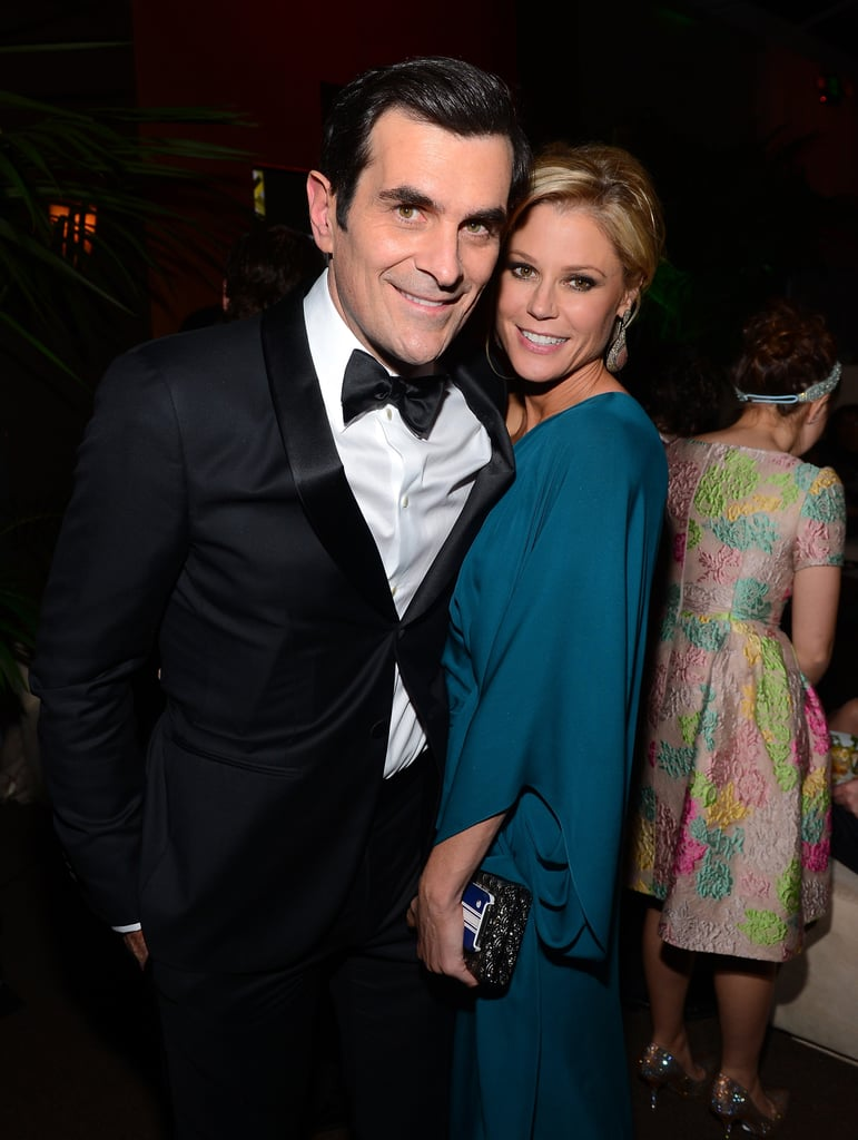 Julie Bowen and Ty Burrell attended the Fox Network Golden Globes party.
