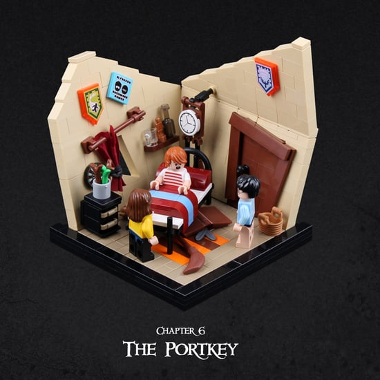 Harry Potter and the Goblet of Fire Re-Created in Lego