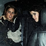 Pictures of Chelsy Davy Partying With Princess Beatrice and Princess Eugenie After Reuniting With Prince Harry