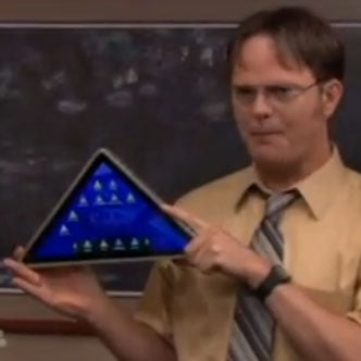 The Office Tablet Video
