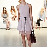 Caroline Issa previewed the Joie collection in a sweet pastel style.