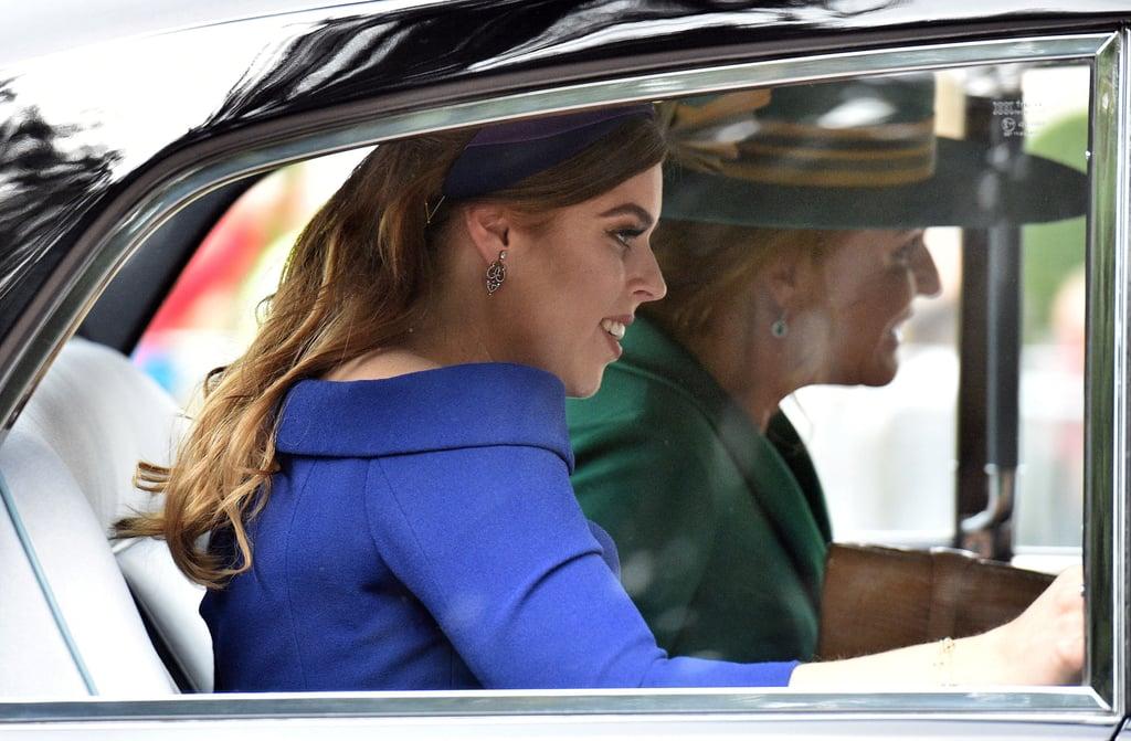 Princess Beatrice Bridesmaid Dress at Eugenie's Wedding 2018