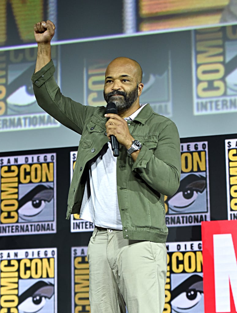 Pictured: Jeffrey Wright at San Diego Comic-Con.