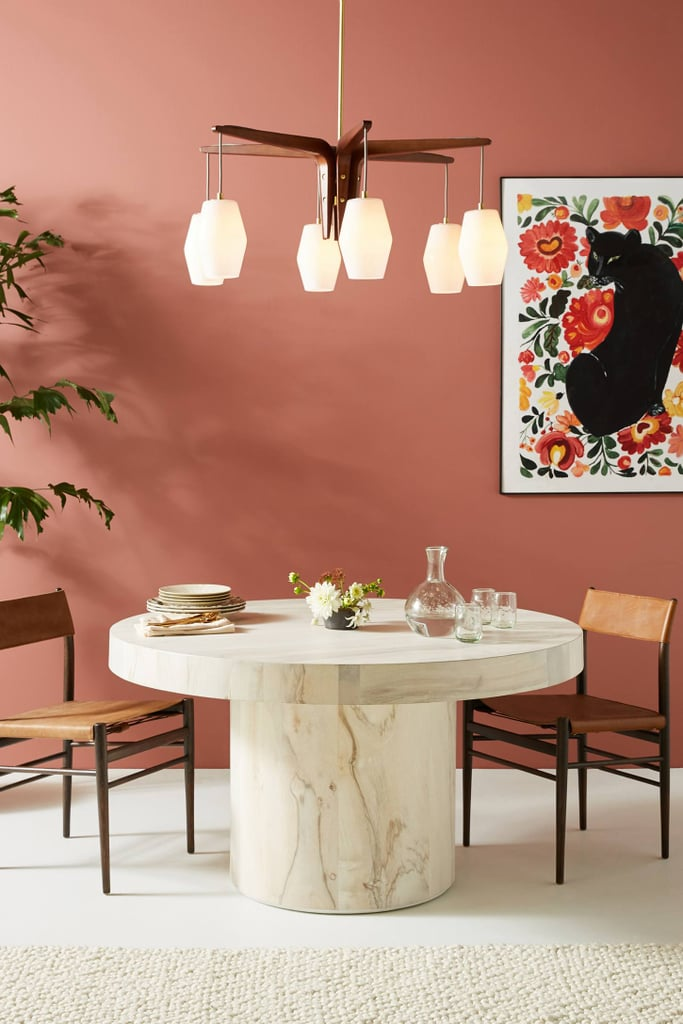 Get the Look: Swirled Drum Dining Table