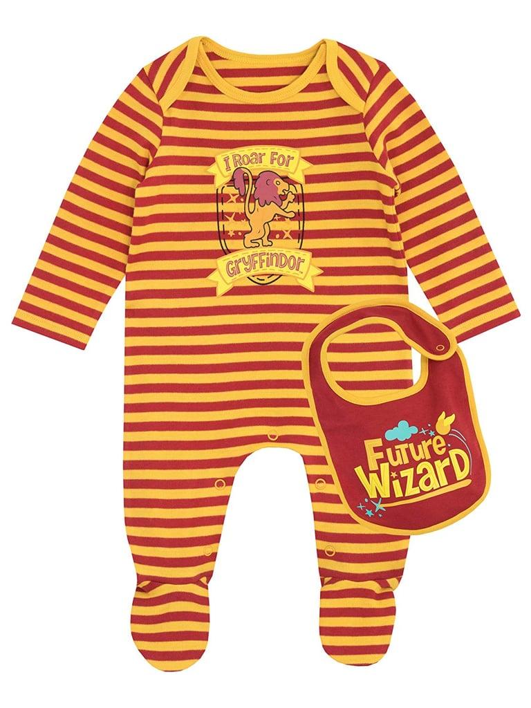 Harry Potter Baby Gryffindor Footies & Bib Set