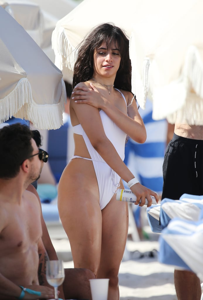 Her Swimsuit Looked Like It Was Being Held Together by a String