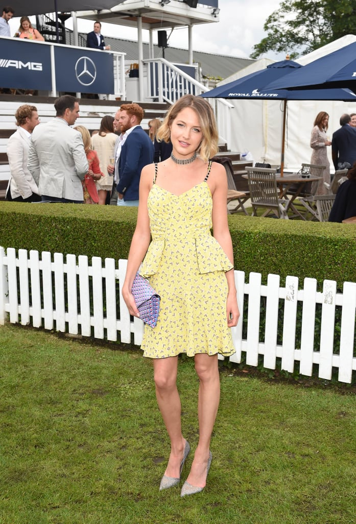 Tess Is No Stranger to the Polo Club