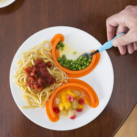 Food Divider to Keep Different Foods Separated on Plate