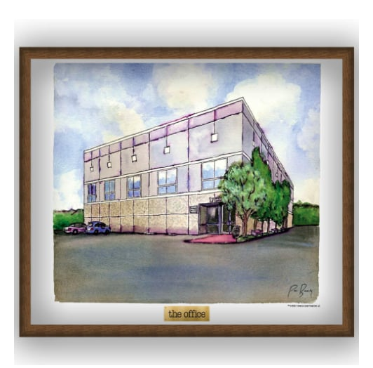 Pam's Watercolor Poster ($29)