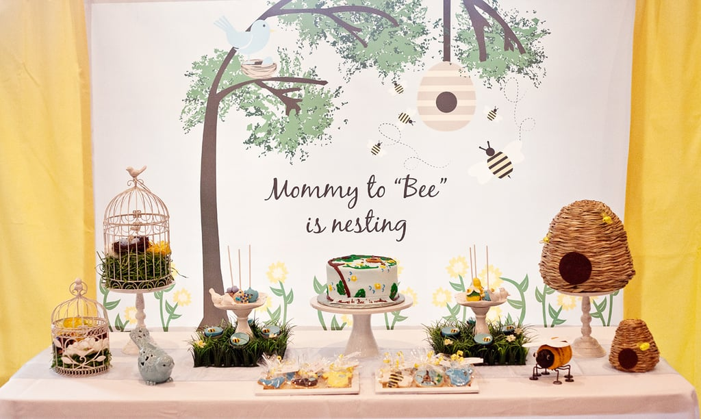 Birds and Bees Baby Shower Buffet