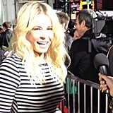 We caught Chelsea Handler's eye as we snapped red-carpet pics at the This Means War premiere.