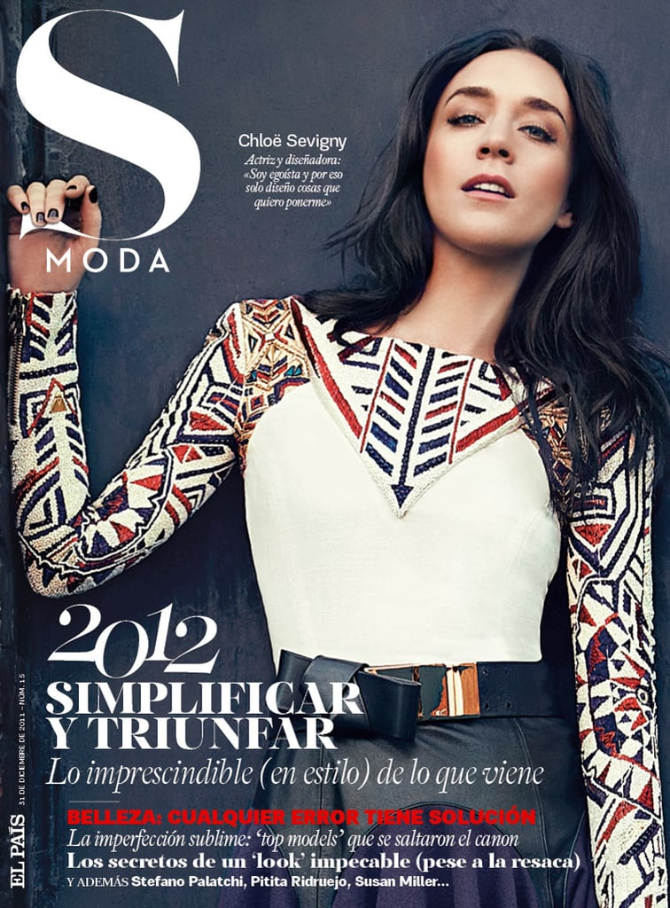 See Chlo Sevigny With Dark Hair In S Moda Magazines December Issue