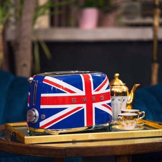 Shop Smeg's Kitschy Union Jack Toaster From Williams Sonoma