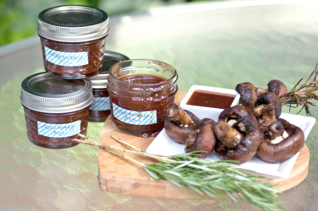 Rosemary-Fig Barbecue Mushrooms