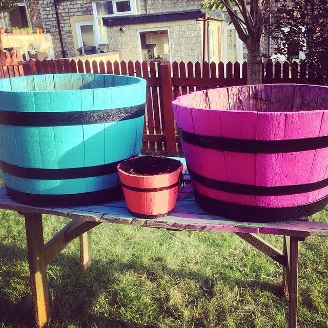 Bright Wood Barrels