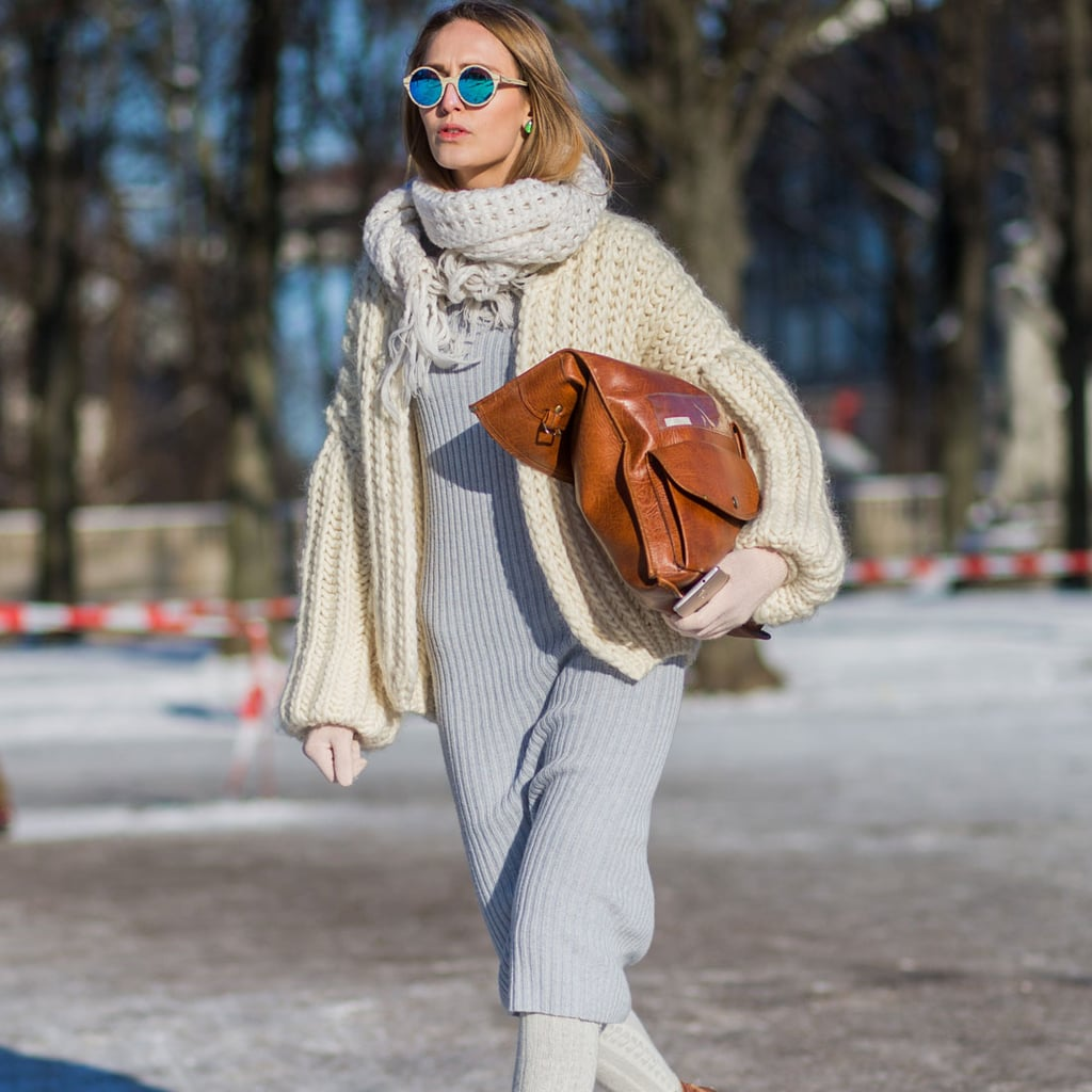 Best winter street style popsugar fashion Fashion solitaire winter style