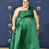 Chrissy Metz's Green Dress at the 2018 Emmys