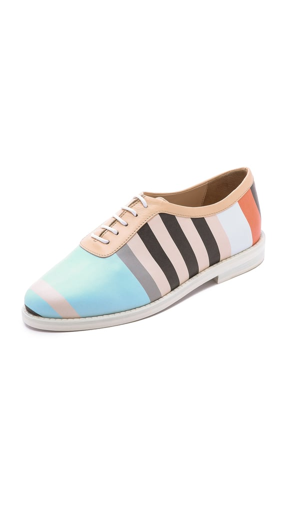 Opening Ceremony Vertical Stripe Oxfords ($475)
