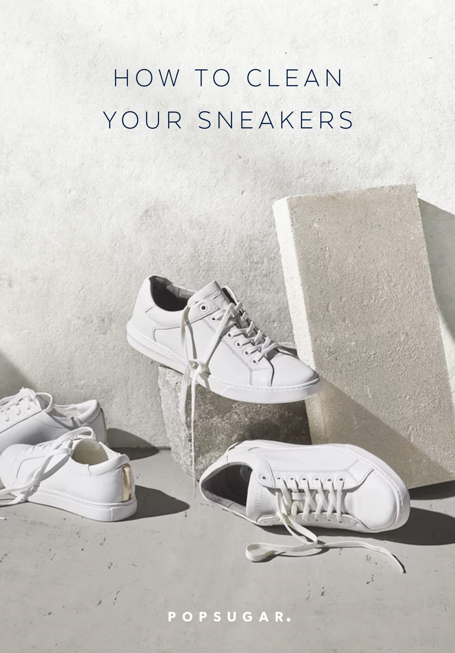 How to Clean Your Sneakers at Home So