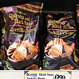 Quinoa and Black Bean Infused Tortilla Chips ($3)