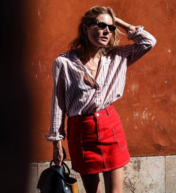 Red and Pink Outfit Inspiration