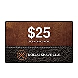 With a variety of monthly prices, a Dollar Shave Club membership ($1, $6, or $9 per month) is the perfect pick for any man who loves a clean, simple shave.