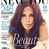 Courteney Cox graced the cover of New You magazine.  Source: James White for New You