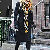 Every Fall Ensemble Could Use a Scarf on Top