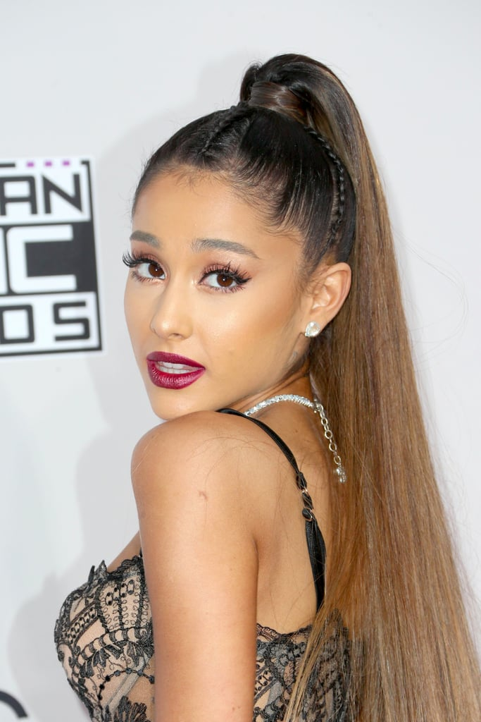 Ariana Grande Hair And Makeup At 2016 American Music Awards