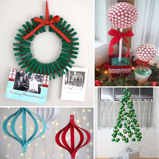 Christmas Decor Ideas.Diy Christmas Decorations Kids Will Love Popsugar Family