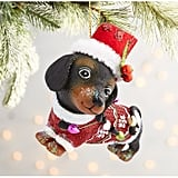 Dachschund Christmas Ornament