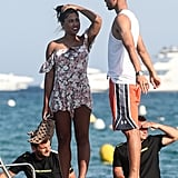 Ayesha and Stephen Curry Celebrate Their 5-Year Wedding Anniversary on a Yacht in St.-Tropez