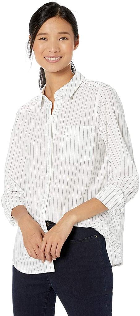 Goodthreads Washed Cotton Boyfriend Shirt