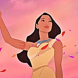 Pocahontas is the only Disney princess with a tattoo.